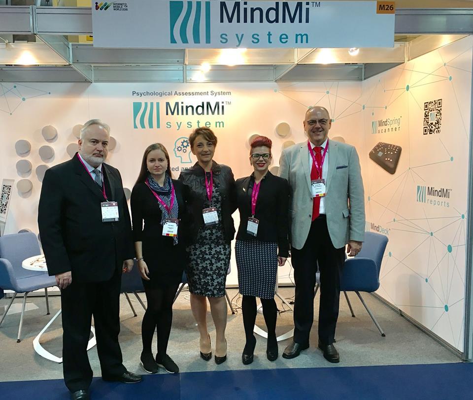 The commercial launching event of the MindMi™ during the Internet Mobile World 2016 event