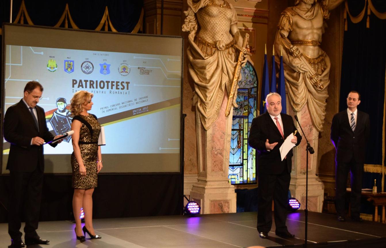 O sistema MindMi™ e o seu inventor, o Dr. Eng. Dumitru Grigore, ganham o Prémio da Edição no concurso PatriotFest